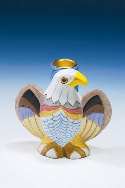 Eagle Candle Holder - Baby Feathers Gift Shop