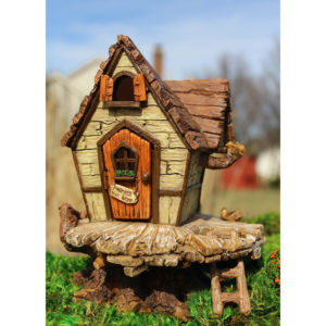 Fairy Fort Backyard Fairy Garden Cottage - Baby Feathers Gift Shop