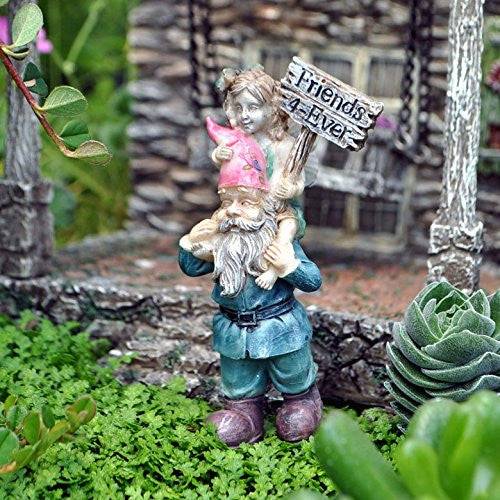 Ellie And Digby Forever Friends Mini Fairy Garden Miniature - Baby Feathers Gift Shop - 2