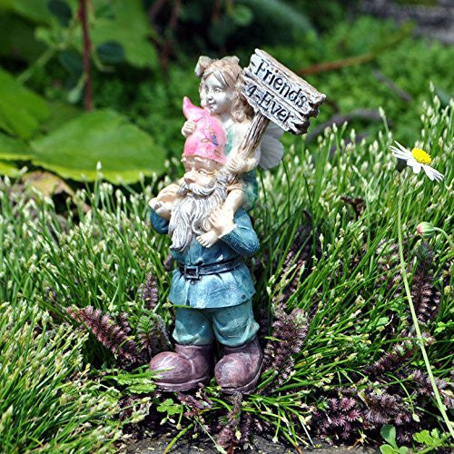 Ellie And Digby Forever Friends Mini Fairy Garden Miniature - Baby Feathers Gift Shop - 3