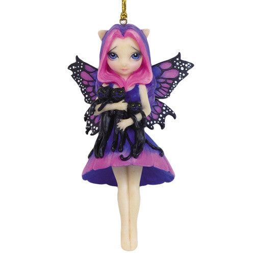 Strangeling My Three Kitties Fairy Ornament Jasmine Becket-Griffith - Baby Feathers Gift Shop
