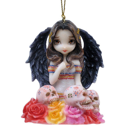 Strangeling Angel De Los Muertos Ornament Jasmine Becket-Griffith - Baby Feathers Gift Shop