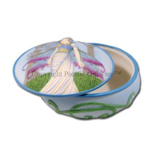 Eternity Trinket Box by Molly Harrison Collections - Baby Feathers Gift Shop