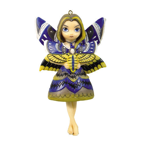 Strangeling Moth Queen Ornament Jasmine Becket-Griffith - Baby Feathers Gift Shop