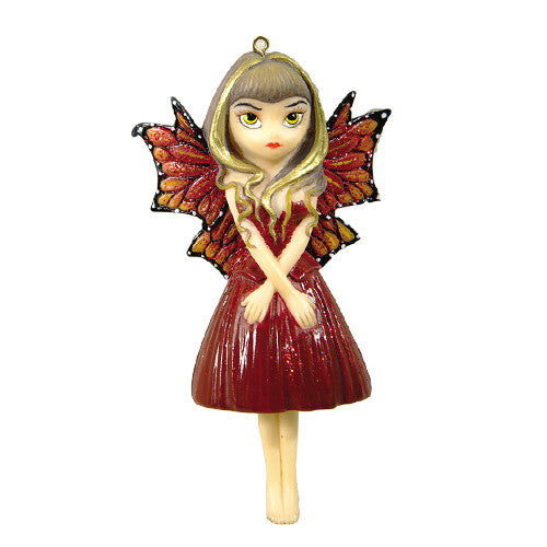 Strangeling Hints of Gold Ornament Jasmine Becket-Griffith - Baby Feathers Gift Shop