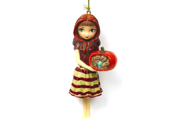 Strangeling Clockwork Pumpkin Ornament Jasmine Becket-Griffith - Baby Feathers Gift Shop