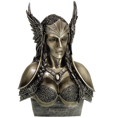 Valkyrie Cold Cast Bronze Statue Norse (Viking) Mythology - Baby Feathers Gift Shop