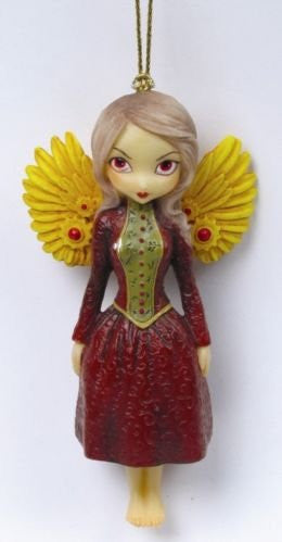 Mechanical Angel ll Ornament Strangeling by Jasmine Becket-Griffith - Baby Feathers Gift Shop