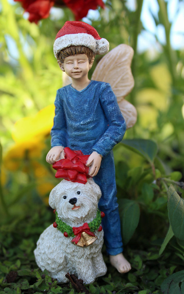 Nick & Fluff Mini Fairy: Fairy Garden Holiday Theme - Baby Feathers Gift Shop