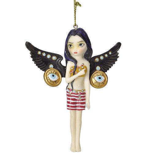 Mechanical Angel lll Ornament Strangeling by Jasmine Becket-Griffith - Baby Feathers Gift Shop