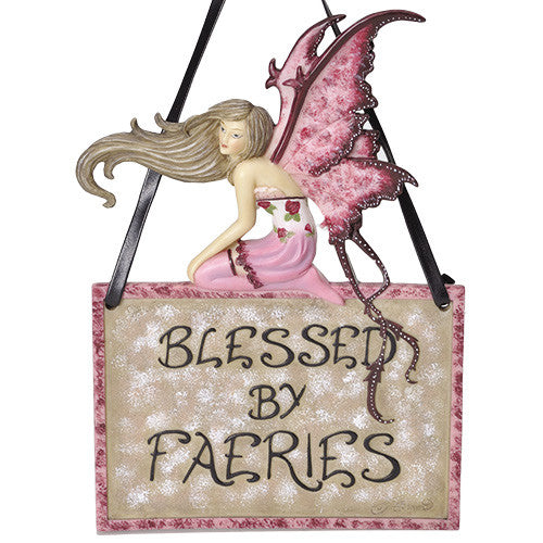 Blessed by Faeries by Amy Brown Fairy Collection - Baby Feathers
