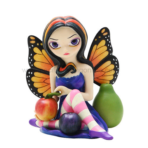 Peach Plum Pear Fairy: Strangeling Fairies by Jasmine Becket Griffith - Baby Feathers Gift Shop