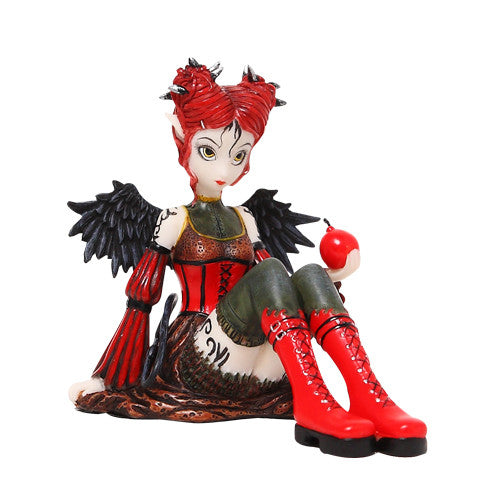 Abigail Dark Fairy Angel by Myka Jelina - Baby Feathers Gift Shop