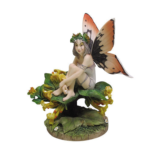 Honeysuckle Linda Ravenscroft Fairy Flower Collection - Baby Feathers Gift Shop