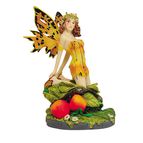 Salons Gold Fairy Linda Ravenscroft Fairy Butterfly Collection Figurine - Baby Feathers Gift Shop