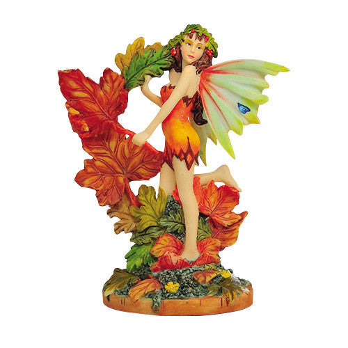 Autumn Leaf Fairy Linda Ravenscroft Fairy Butterfly Collection Figurine - Baby Feathers Gift Shop