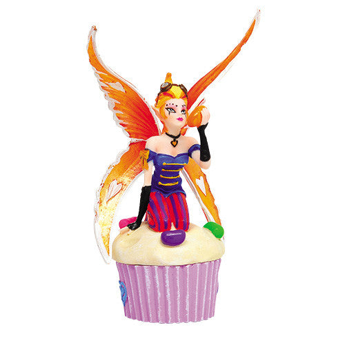 Sugarsweet Jelly Beans Cupcake Fairy Trinket Box Anne Stokes - Baby Feathers Gift Shop