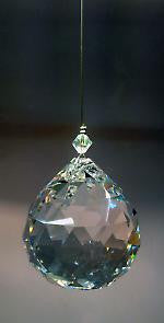 40mm Hanging Crystal Ball - Baby Feathers Gift Shop