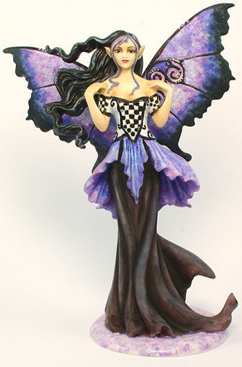 Amy Brown Goth Blue Fairy: Amy Brown Gothic Fairy Collectibles
