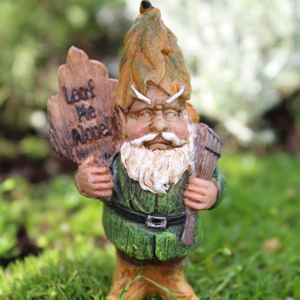 Andy the Gnome: Mini Fairy Garden Miniature - Baby Feathers Gift Shop