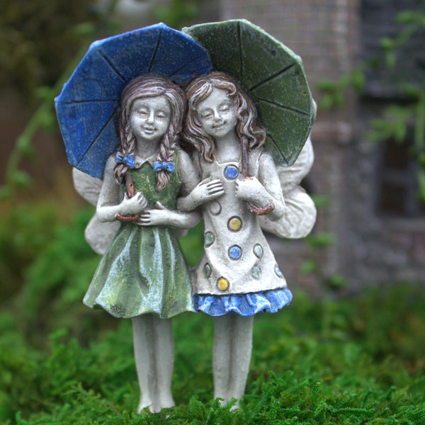 Ava & Grace Mini Fairy: Fairy Garden Miniature - Baby Feathers Gift Shop