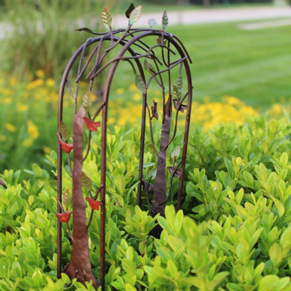 Aviary Arbor (metal): Fairy Garden Landscaping - Baby Feathers Gift Shop