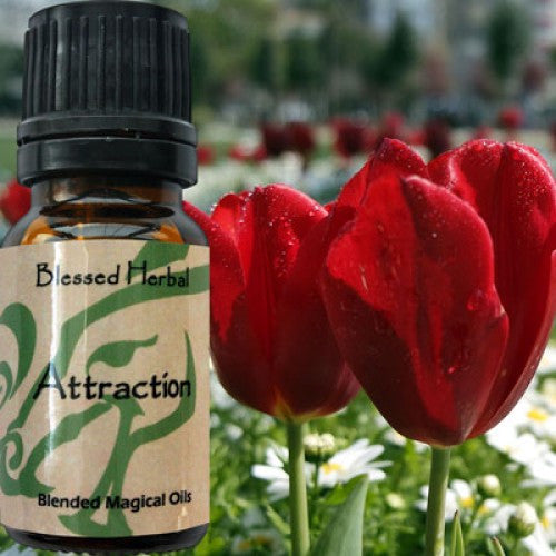 Attraction Love Blessed Herbal Oil: Essential Oil Patchouli, Lavender Blend - Baby Feathers Gift Shop
