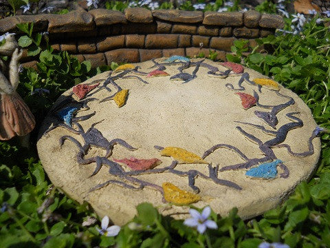 Bird Patio Pad Fairy Garden Miniature Landscaping - Baby Feathers Gift Shop