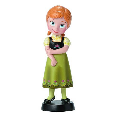 Frozen Anna Little Princess Figurine: Disney Showcase - Baby Feathers Gift Shop