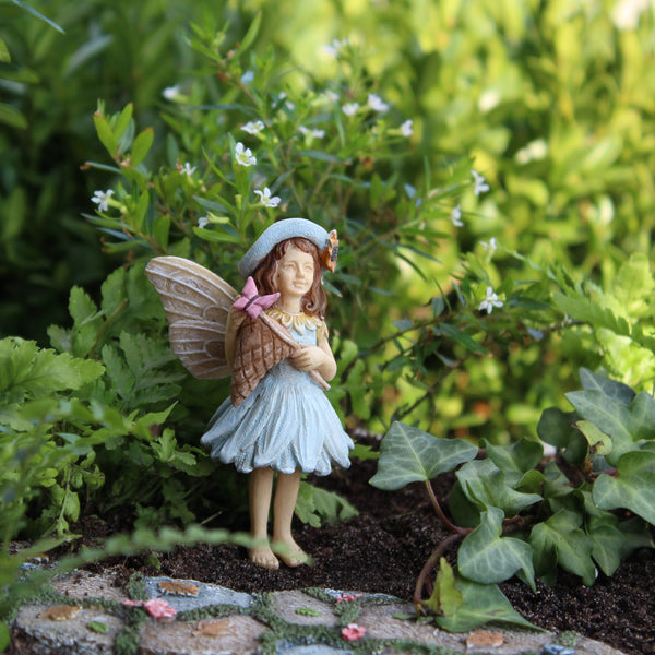 Molly Mini Fairy: Fairy Garden Miniature - Baby Feathers Gift Shop