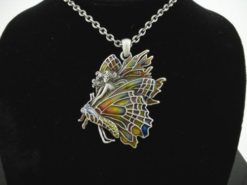 Chrysalis Fairy Necklace by Jody Bergsma - Baby Feathers Gift Shop