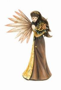 Jessica Galbreth Summer Dreams Fairy Statue Figurine - Baby Feathers Gift Shop