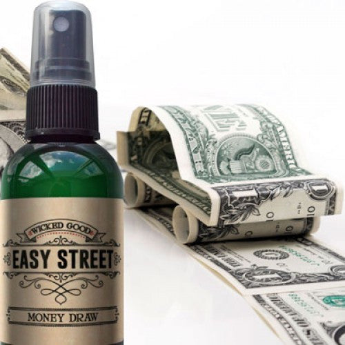 Easy Street Money Draw Wicked Good Spray: Essential Oil Spray - Baby Feathers Gift Shop