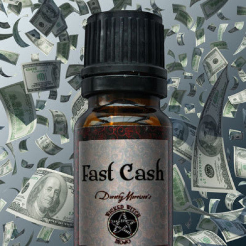 Fast Cash Wicked Witch Mojo Oill: Essential Oil - Baby Feathers Gift Shop