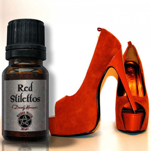 Red Stilettos Wicked Witch Mojo Oil: Essential Oil - Baby Feathers Gift Shop