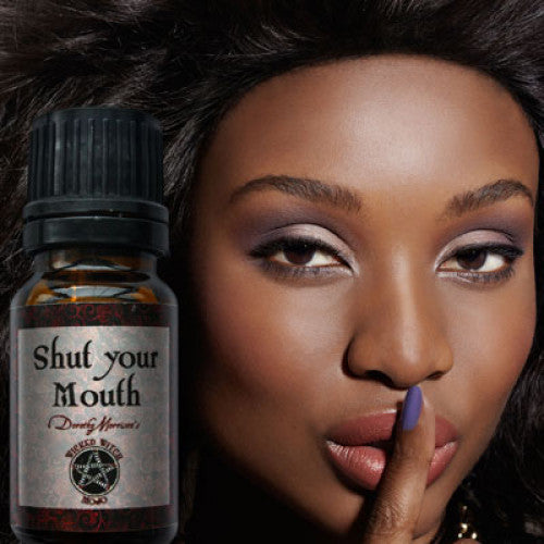 Shut Your Mouth Wicked Witch Mojo Oil: Essential Oil - Baby Feathers Gift Shop