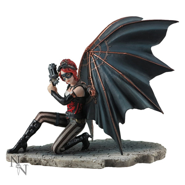 Anne Stokes Assassin Steampunk Fairy Angel Figurine: Nemesis Now - Baby Feathers Gift Shop