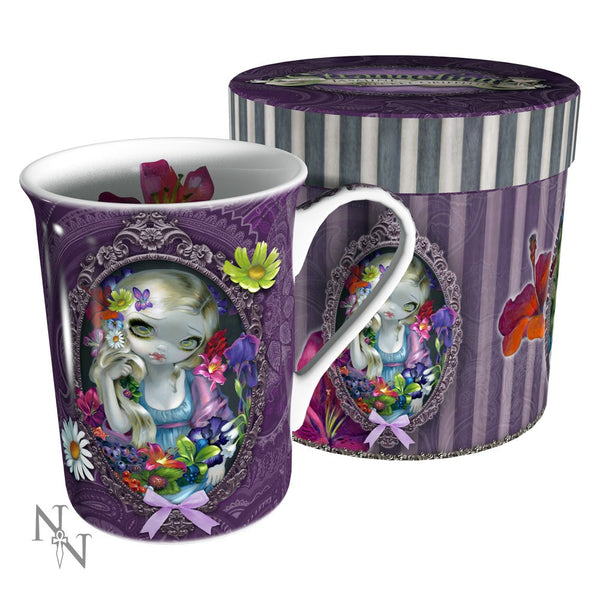 Strangeling: Flora Mug: Jasmine Becket-Griffith Fairies - Baby Feathers Gift Shop