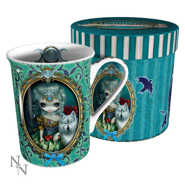 Strangeling: Loup Garou La Grand Pretresse Mug: Jasmine Becket-Griffith Fairies - Baby Feathers Gift Shop