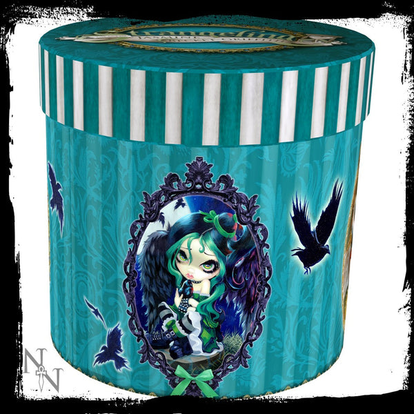 Strangeling: Perched & Sat & Nothing More Mug: Jasmine Becket-Griffith Fairies - Baby Feathers Gift Shop - 3