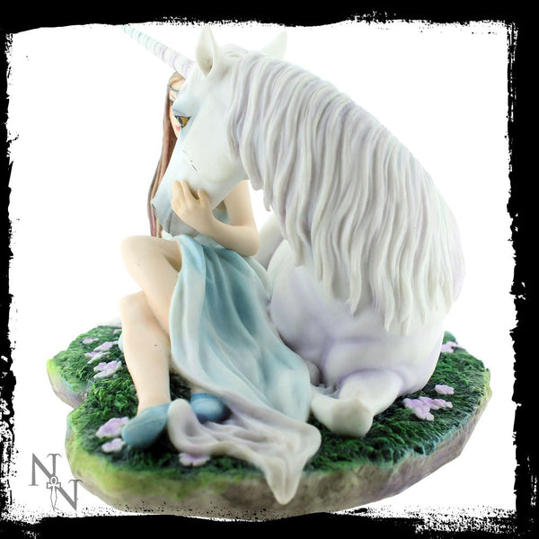 Anne Stokes Pure Heart Unicorn Figurine - Baby Feathers Gift Shop - 1
