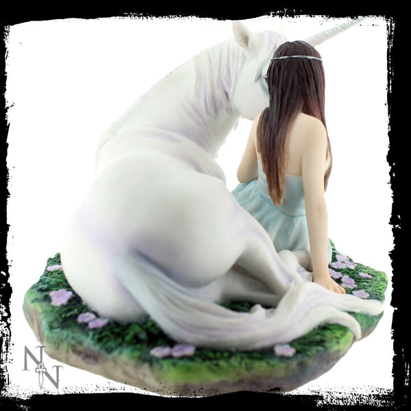 Anne Stokes Pure Heart Unicorn Figurine - Baby Feathers Gift Shop - 3