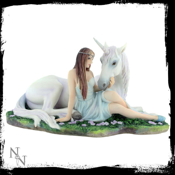 Anne Stokes Pure Heart Unicorn Figurine - Baby Feathers Gift Shop - 4