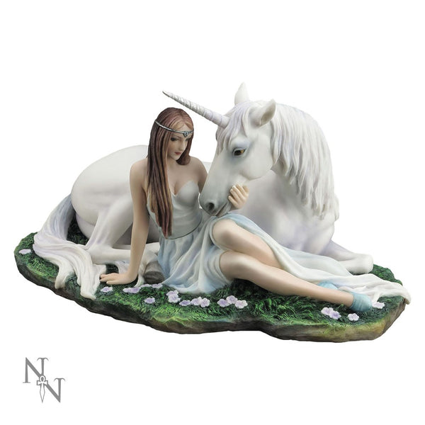 Anne Stokes Pure Heart Unicorn Figurine - Baby Feathers Gift Shop