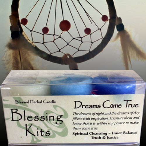 Dreams Come True Blessing Kit: Candles - Baby Feathers Gift Shop