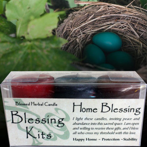 Home Blessing Kit: Candles - Baby Feathers Gift Shop