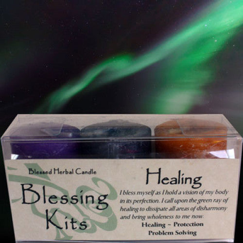 Healing Blessing Kit: Candles - Baby Feathers Gift Shop