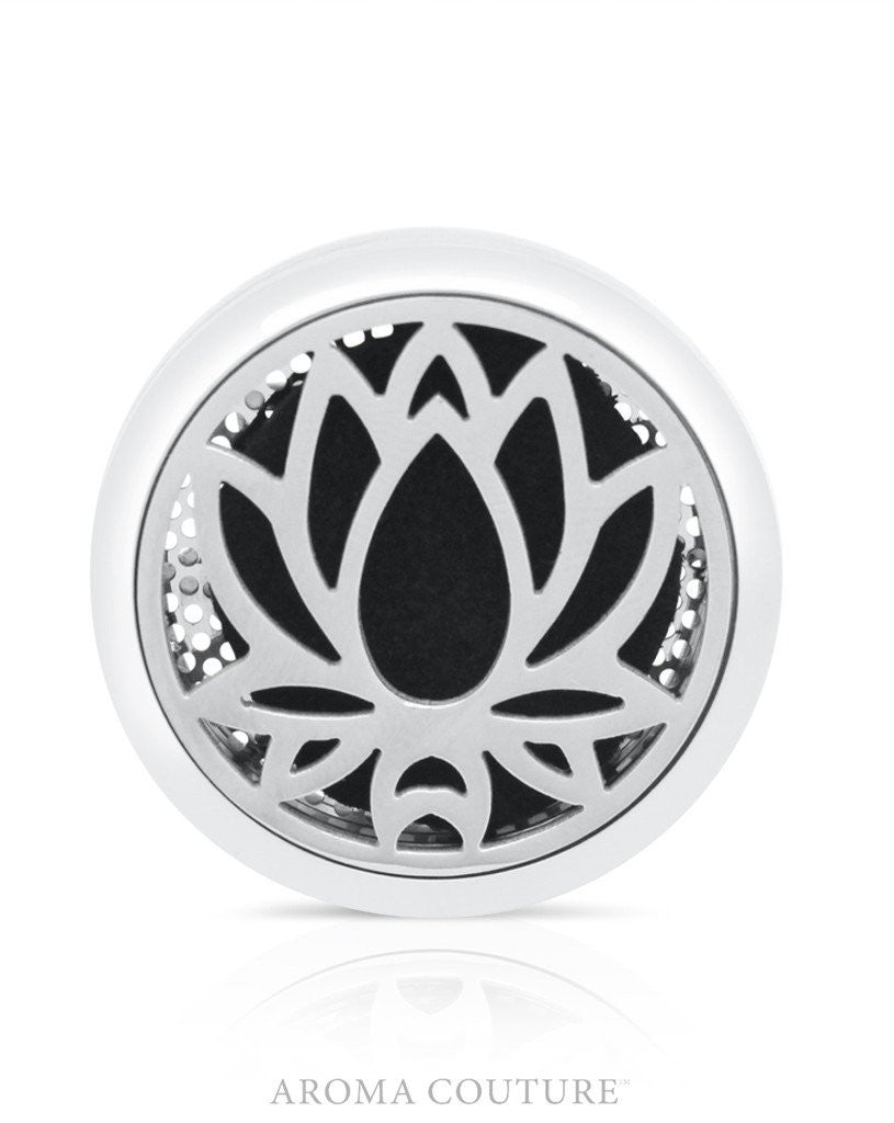 Lotus Aroma Car Diffuser: Aroma Couture Jewelry - Baby Feathers Gift Shop