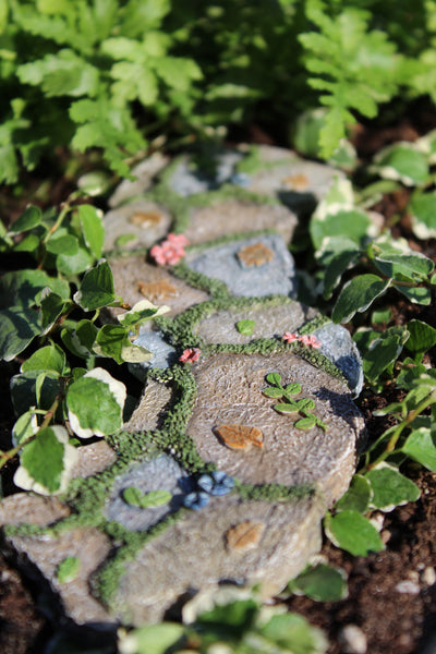 Enchanted Walkway: Fairy Garden Landscaping Miniature - Baby Feathers Gift Shop