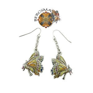 Chrysalis Butterfly Fairy Earrings by Jody Bergsma - Baby Feathers Gift Shop